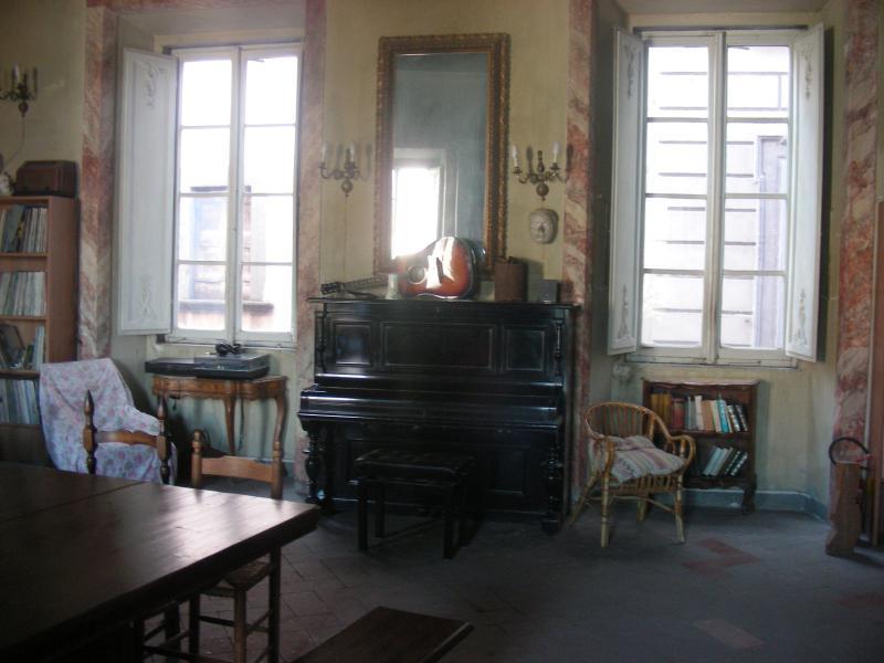 la sala concerti (common space) - the concert hall (common space)