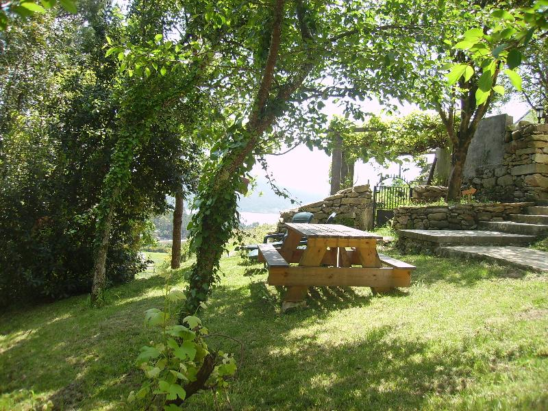 Picnic area lower garden