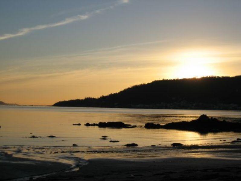 La Brona beach sunset - 0.8km