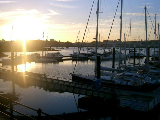 Sunset over plymouth,available every evening