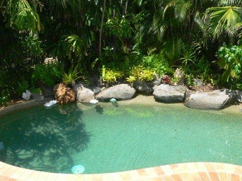 Tropical temperature controlled, fresh water pool, enjoy all year.