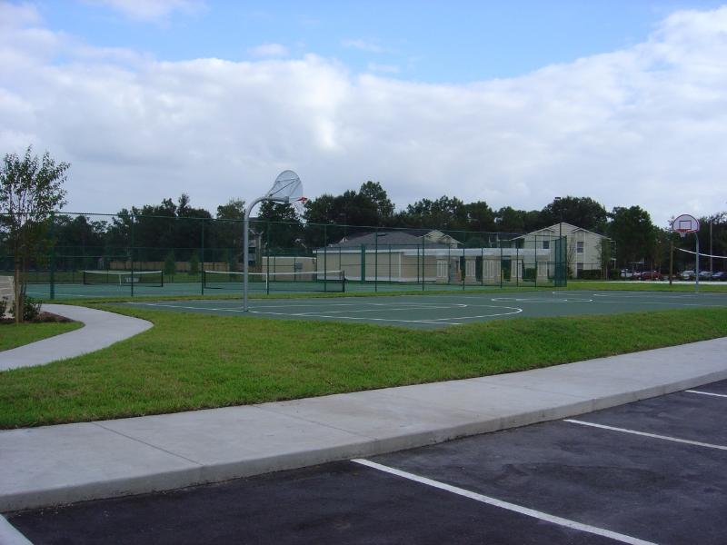 Tennis/Basketball/Volleyball courts
