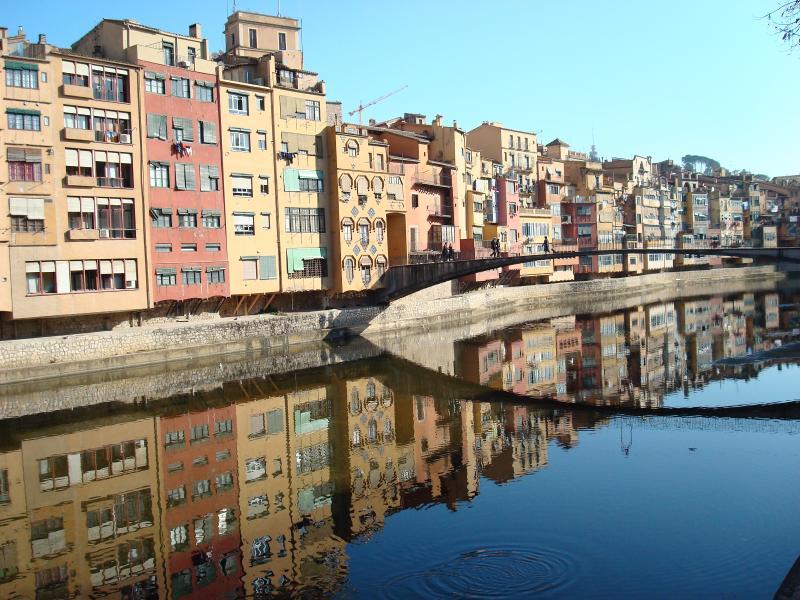 Girona city centre