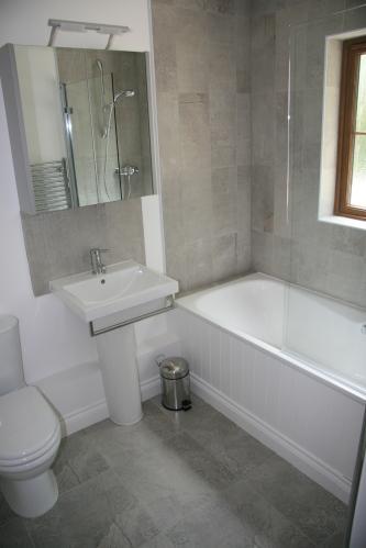 Downstairs en-suite bathroom