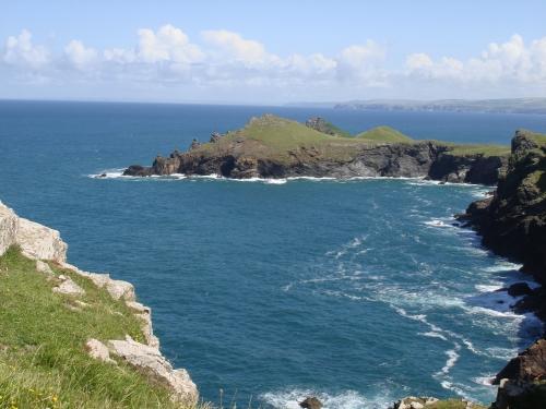 Beautiful coastal walk  towards The Rumps