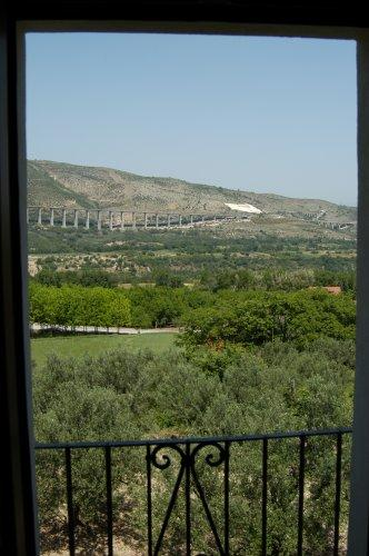 The beautiful view from Casa Mardi