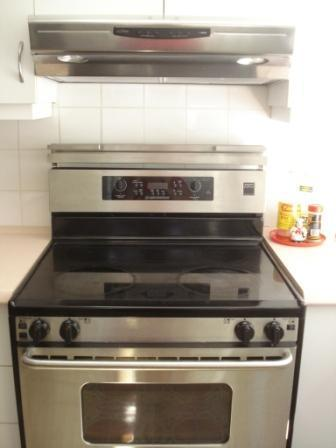 Glass top Stove with oven