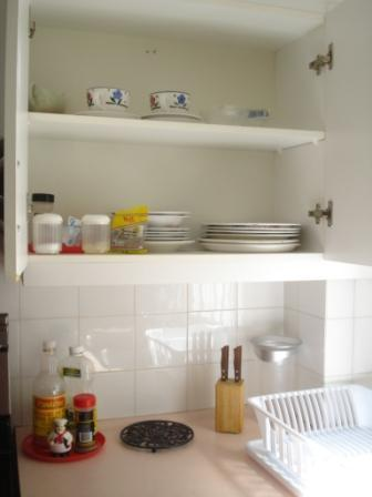 Top right cupboard