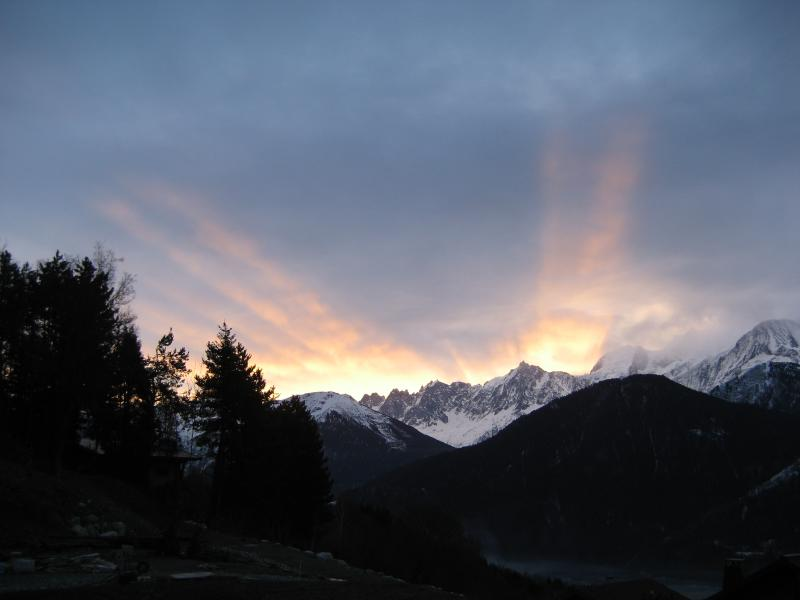The best views of Mont Blanc in the Chamonix Valley!