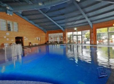 heated indoor pool included in the price