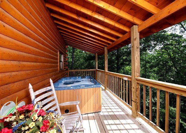 Bear Splash #409- Outside Deck with Hot Tub