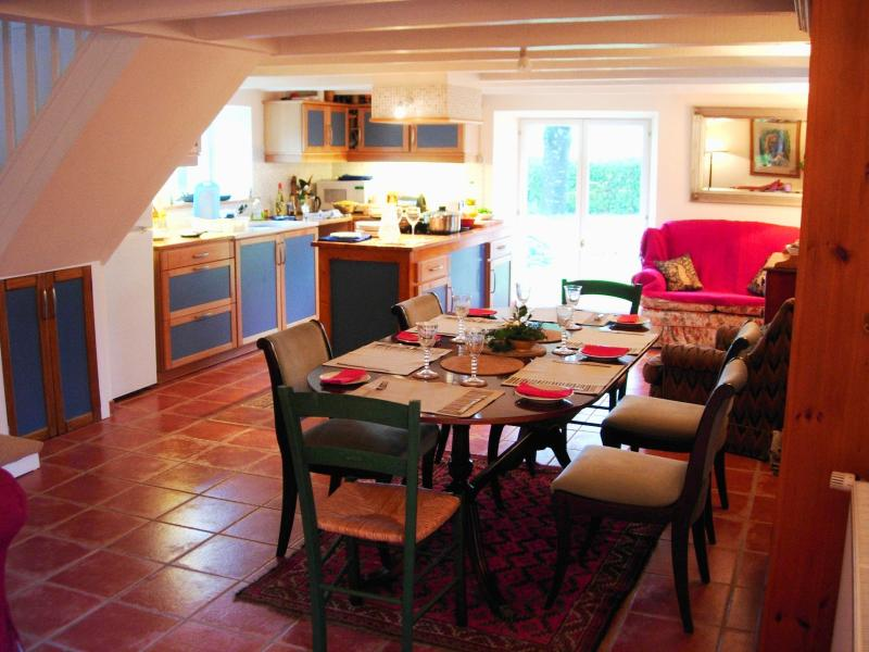 The house offers spacious accommodation for families or groups