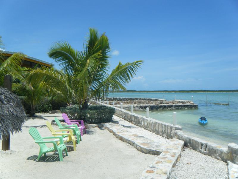 the beach at the Cays