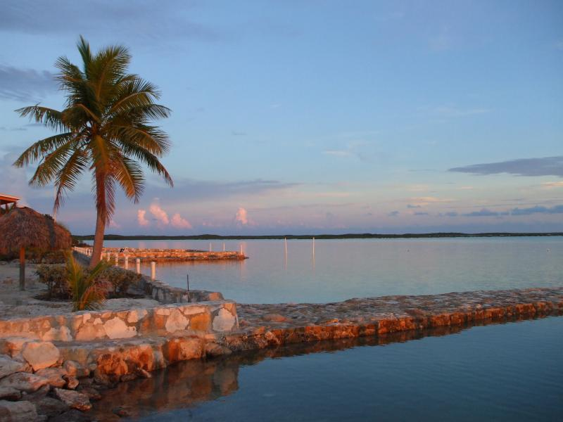 sunset at the Cays
