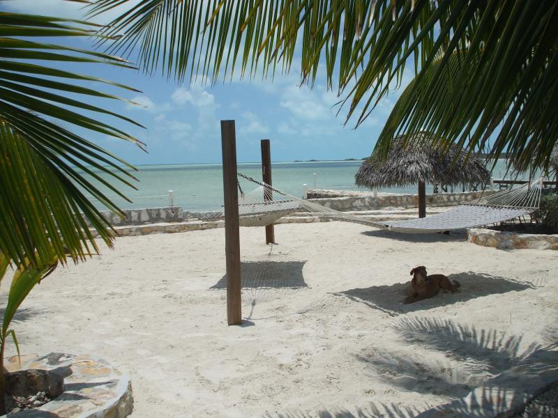 hammocks at the Cays