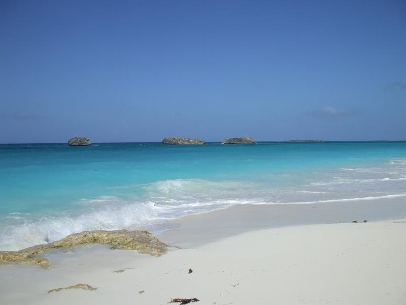 beautiful Exuma beach