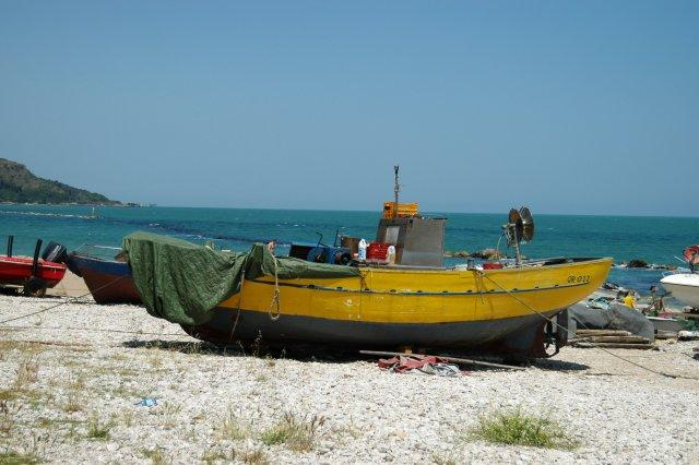 The coast near Pescara