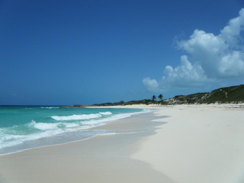 bellissima spiaggia di Exuma