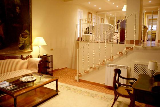 Hall of this large three-level apartment