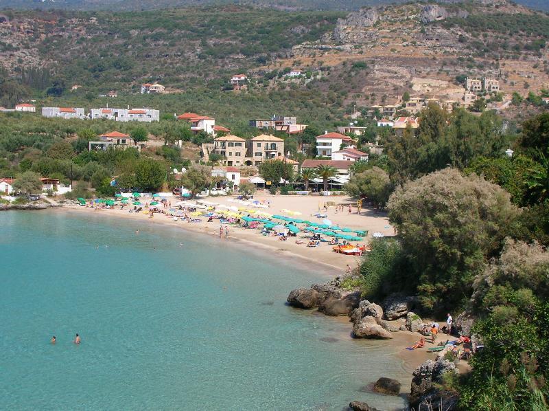 Praia de Kalogria-Stoupa