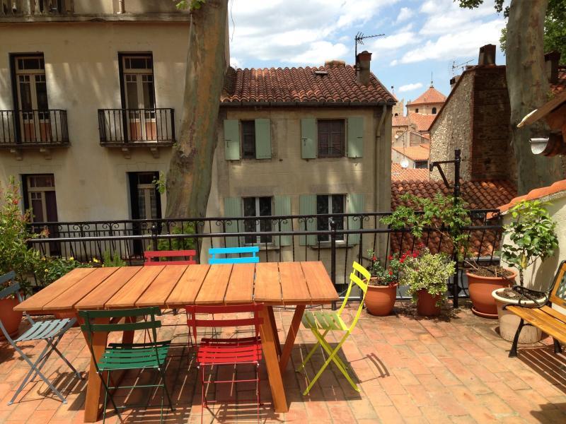 Chez Beaumont, Ferienwohnung in Ceret