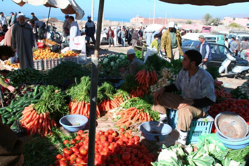 Local Market Bannana Village