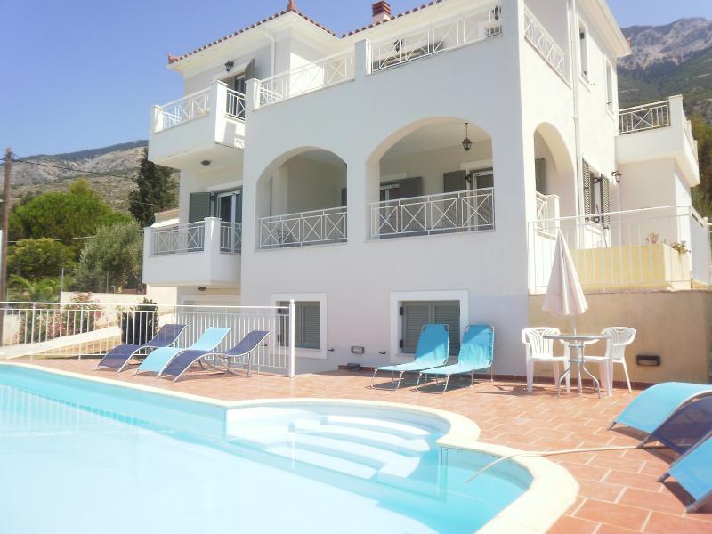Kefalonia Villa Rhakotis, location de vacances à Céphalonie