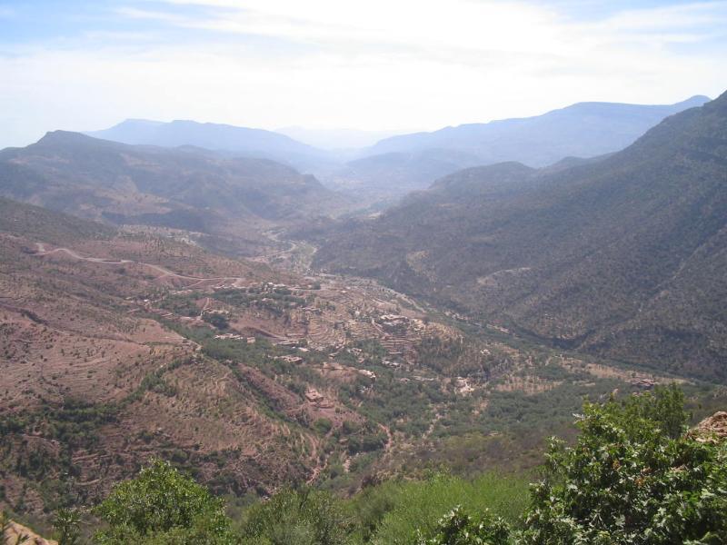 low atlas mountains