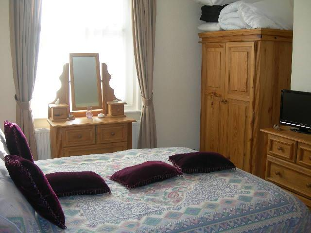 Large beautiful bedroom with very comfortable bed