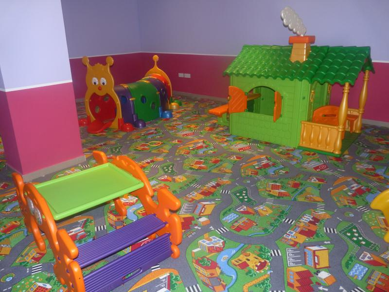 Spacious play area