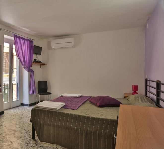 Scirocco Room - Private bathroom, hair dryer, flat screen TV, mini-fridge, air conditioning