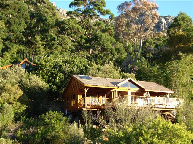 Blackwood Log Cabin, holiday rental in Hout Bay