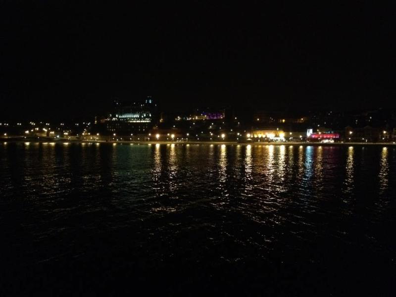 Scarborough is beautiful at night