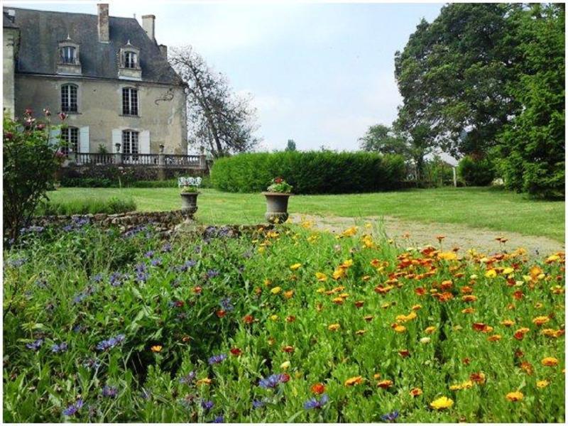 Jardín para pasear en