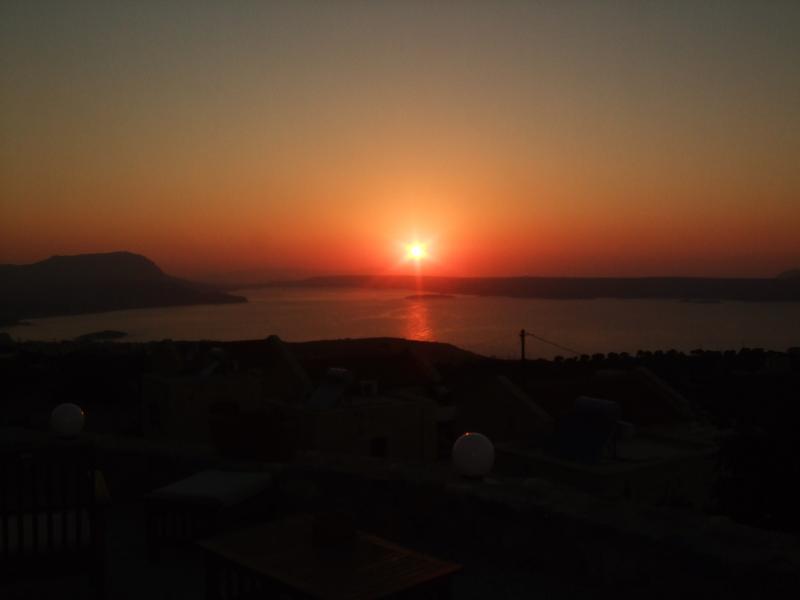 Sunset from kokino Chorio
