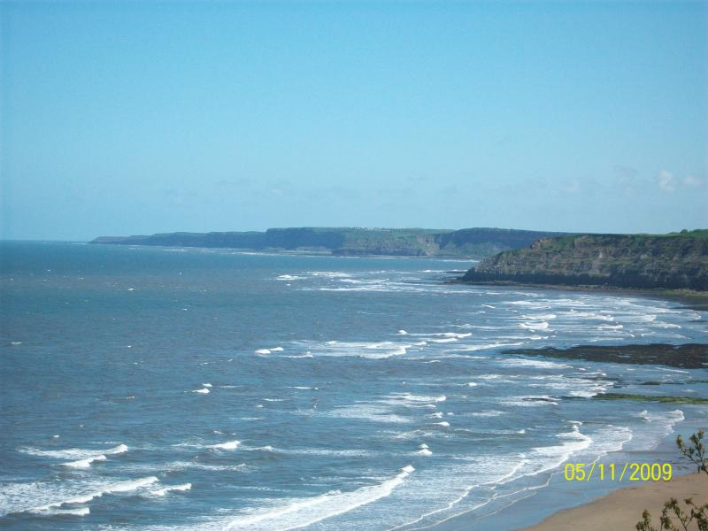 View looking towards cayton bay from south cliff