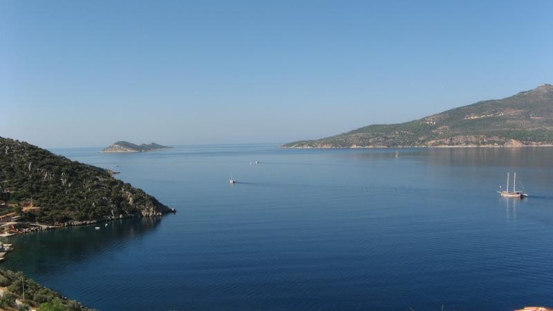 Kalkan Bay from Terrace