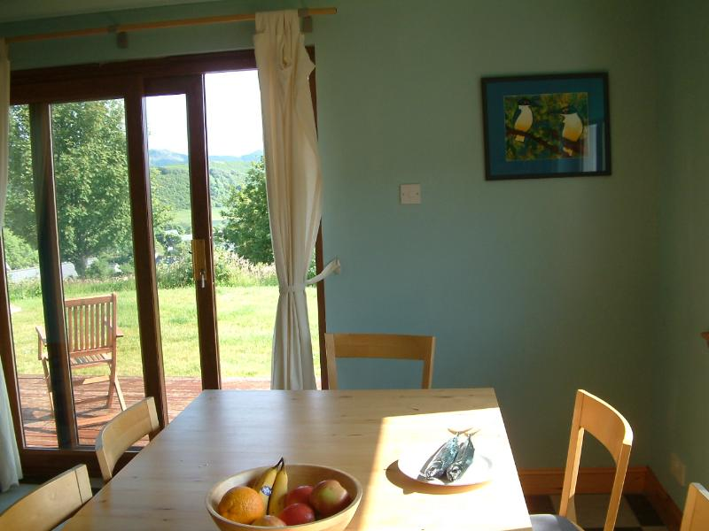 Dining room to decking