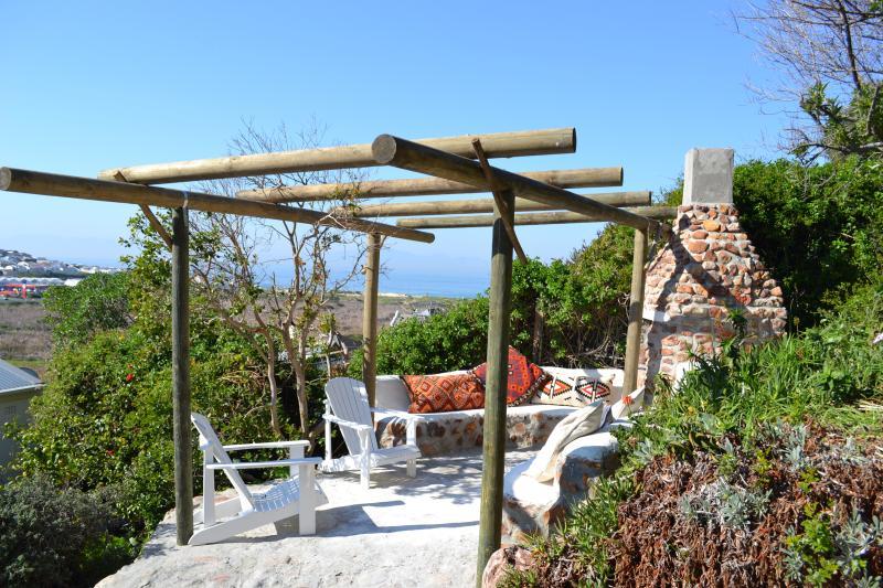 Braai area in back garden