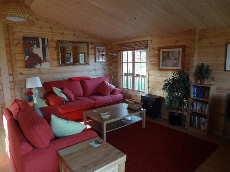 Sitting area from veranda door