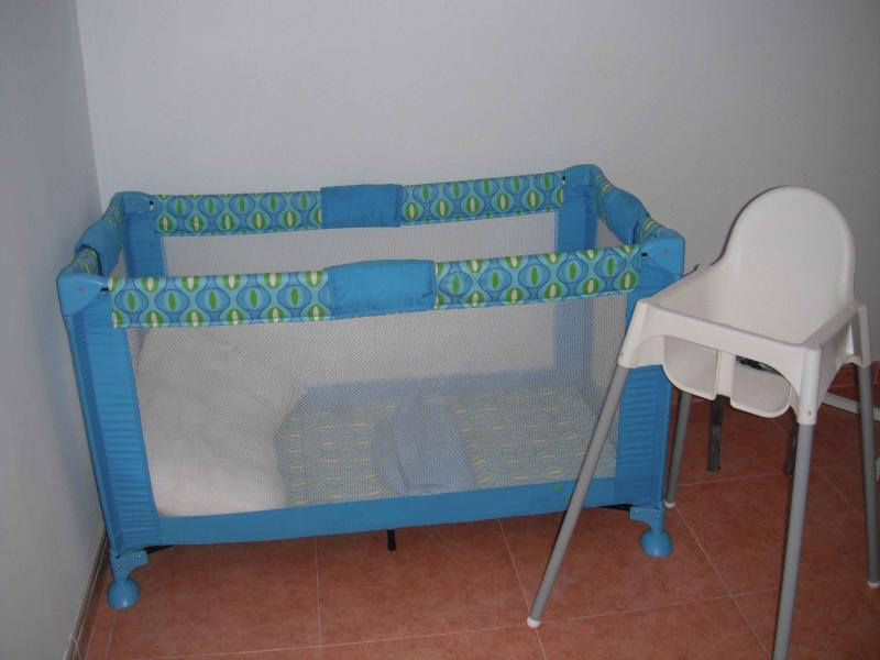 Travel cot & high chair available on request