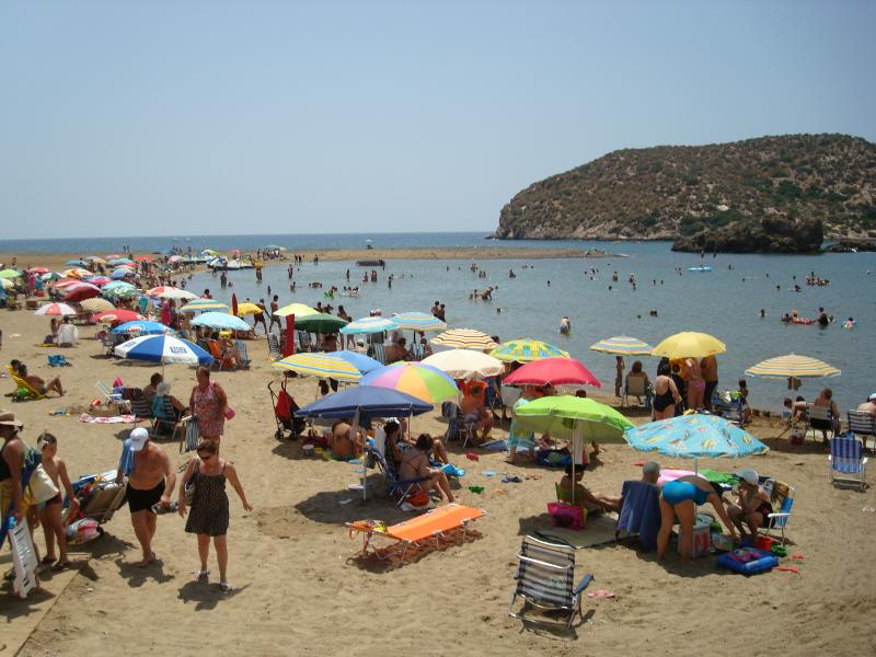 One of the beaches