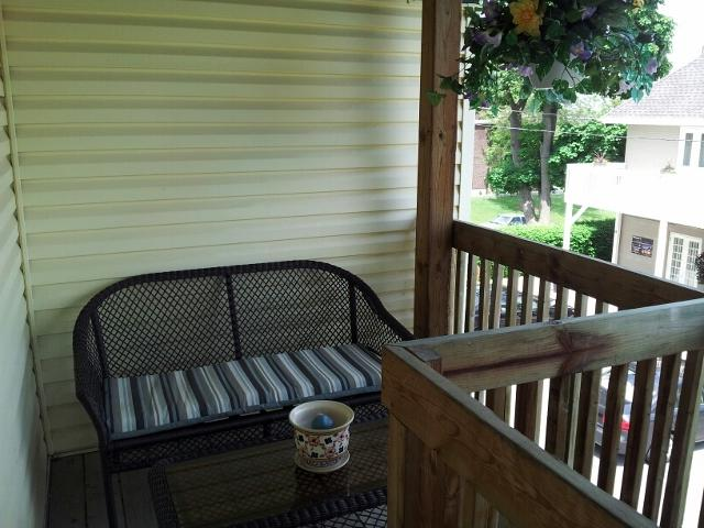 Sitting area on Private Deck