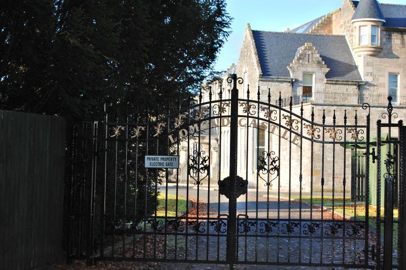 Gates to Lomond Castle