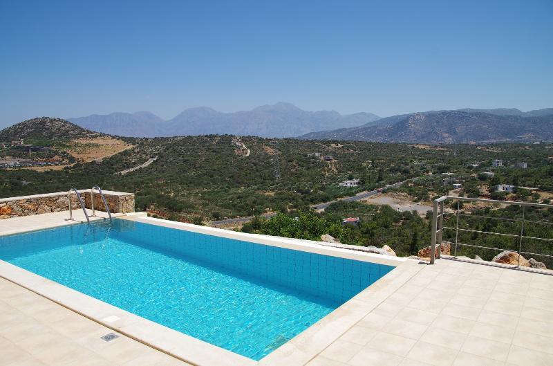 Infinity pool and wonderful views