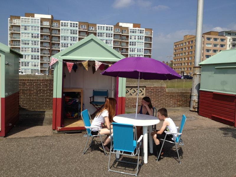 Hove Beach Hut, location de vacances à Brighton and Hove