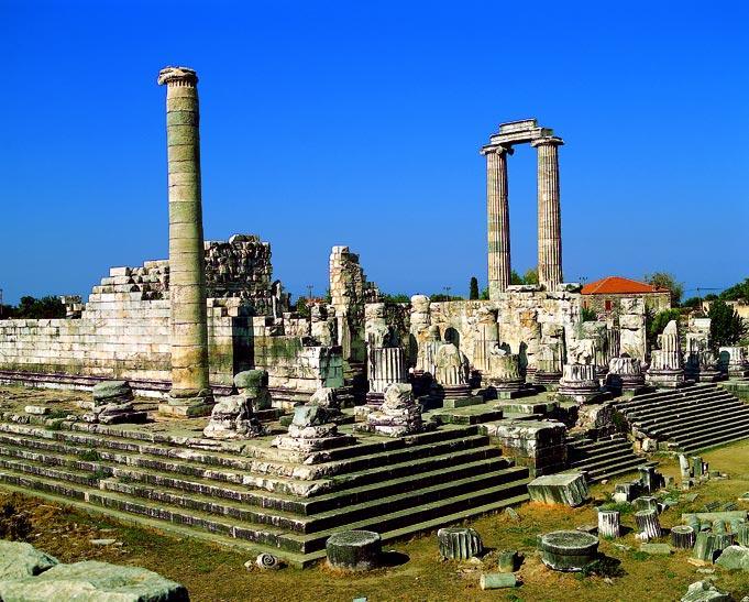 Apollon Temple is 2 miles away