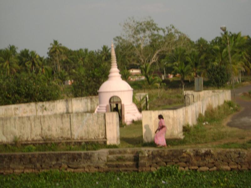 A 3000 year old Budha staute at karumady Kerla