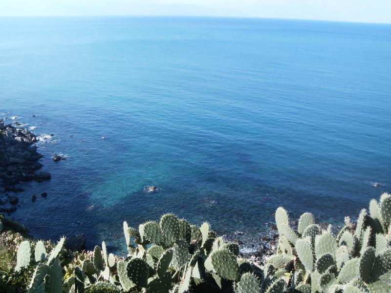 vue mer depuis la résidence