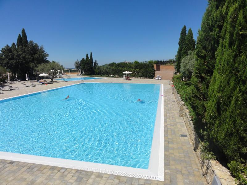 one of four swimming pools  - 95 m long